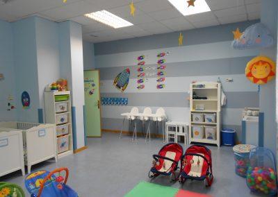 Estas son las instalaciones escuela infantil Torrejón de Ardoz