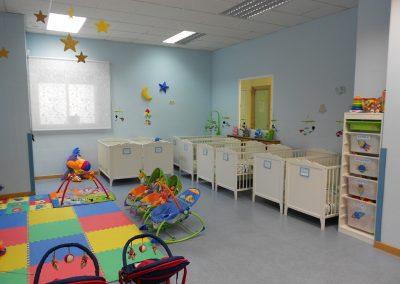 Asi están las instalaciones escuela infantil Torrejón de Ardoz