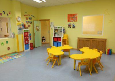 instalaciones escuela infantil Torrejón de Ardoz