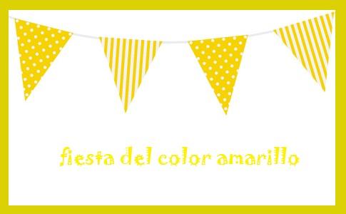 Fiesta del color amarillo viernes 22 de noviembre de 2019