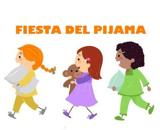 Fiesta del pijama miércoles 15 de enero de 2020