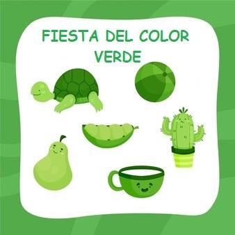 Fiesta del color verde viernes 21 de mayo de 2021